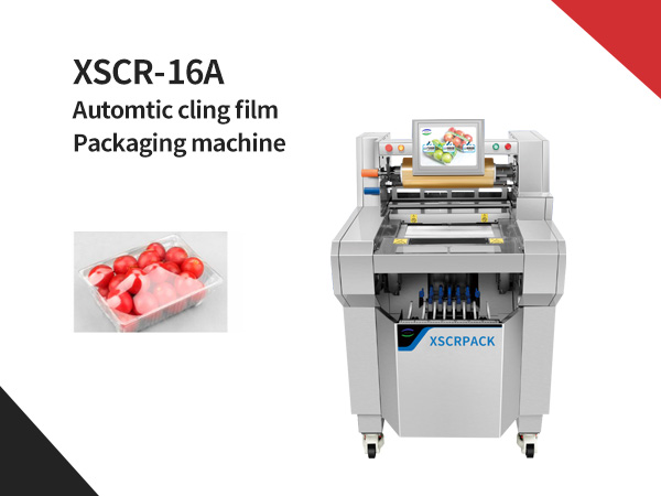 XSCR-16A Automtic cling film packaging machine